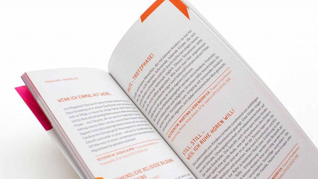 Jahresprogramm Layout Design