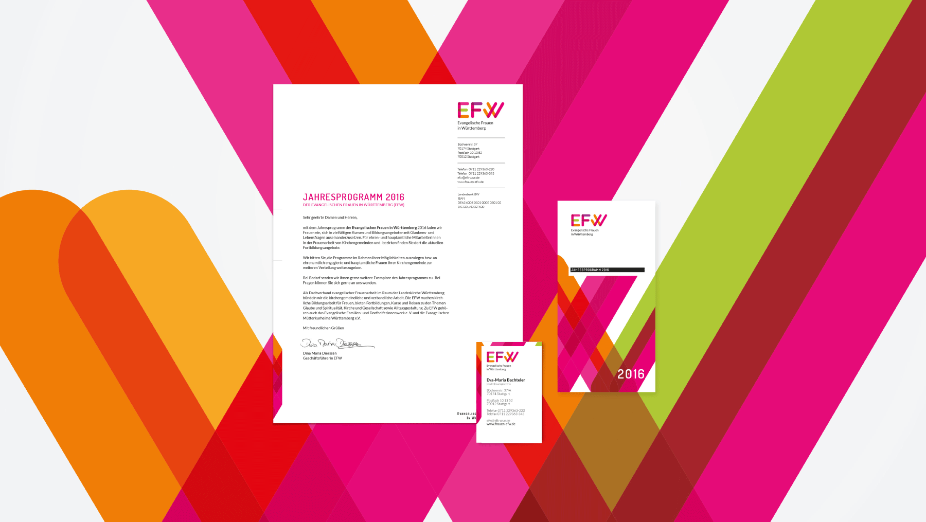 Briefpapier Design