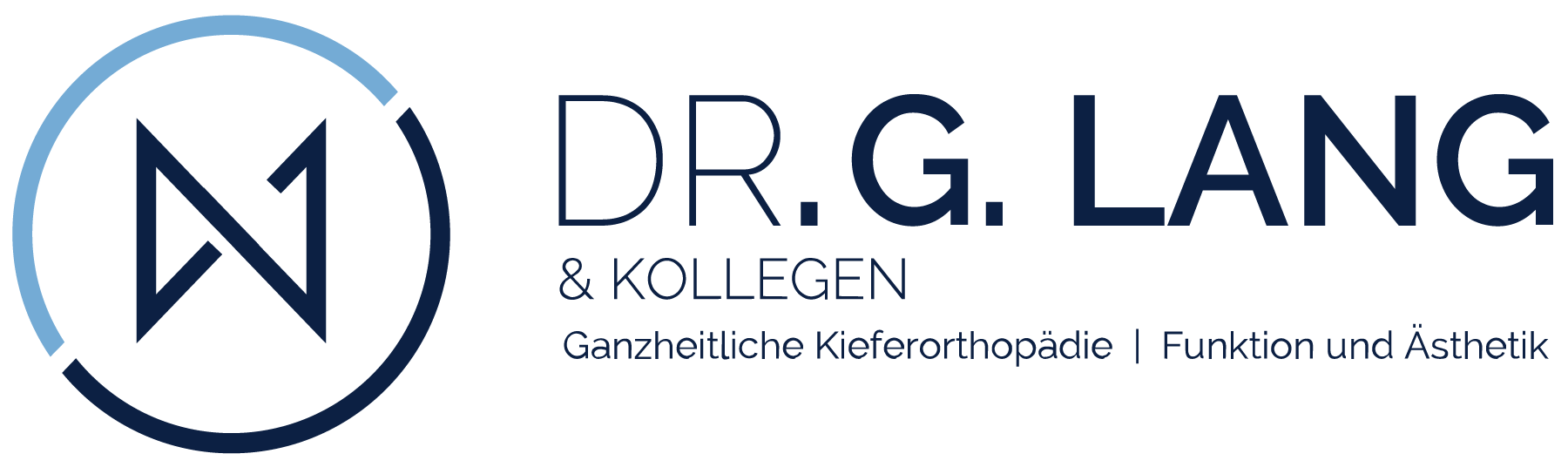 Logo Design Corporate Design Dr. Lang Kieferorthopäde