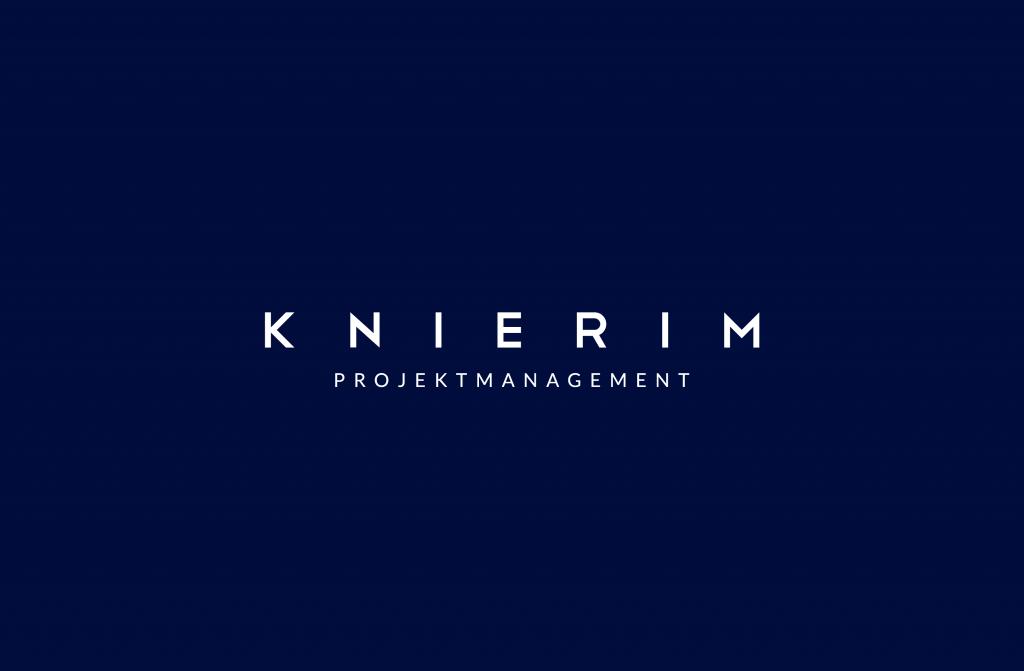 Knierim Logodesign negativ