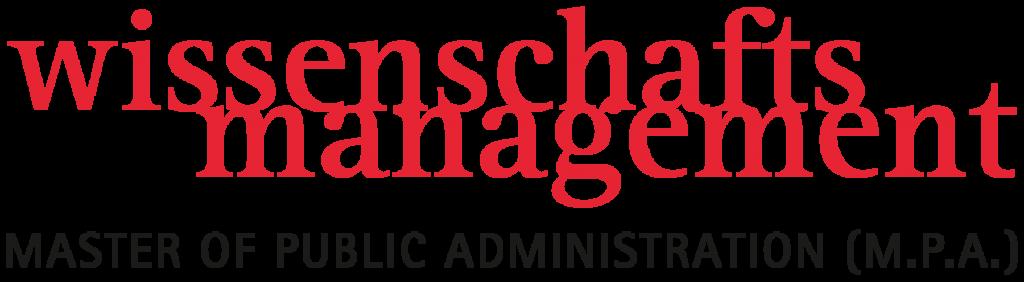 Logo Design Wissenschaftsmanagement M.P.A