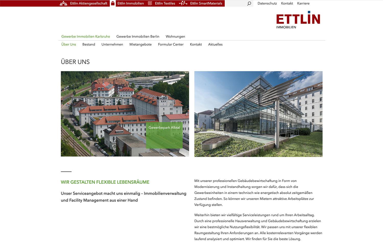 Ettlin Webdesign Typo3