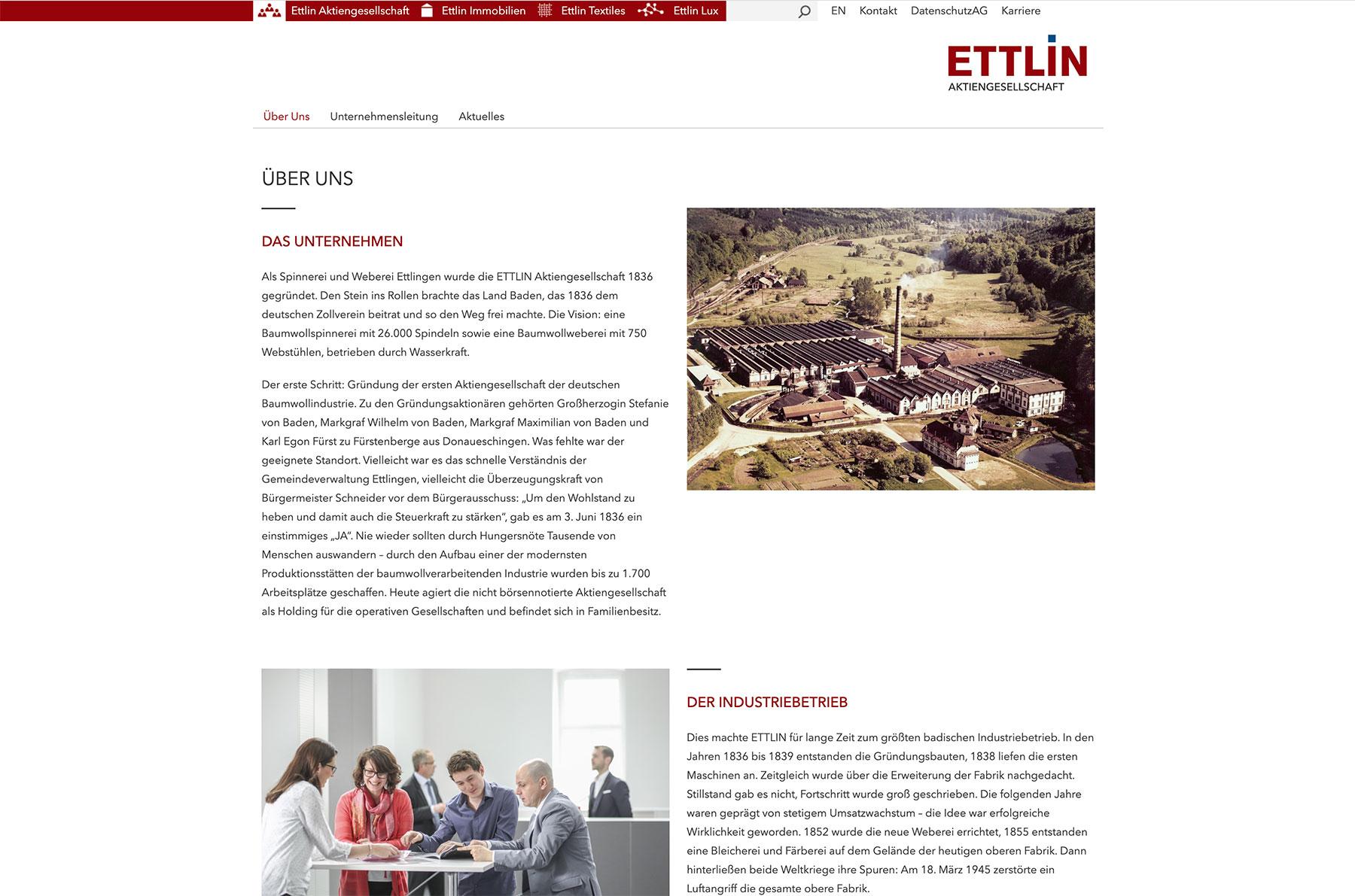 Ettlin Webdesign