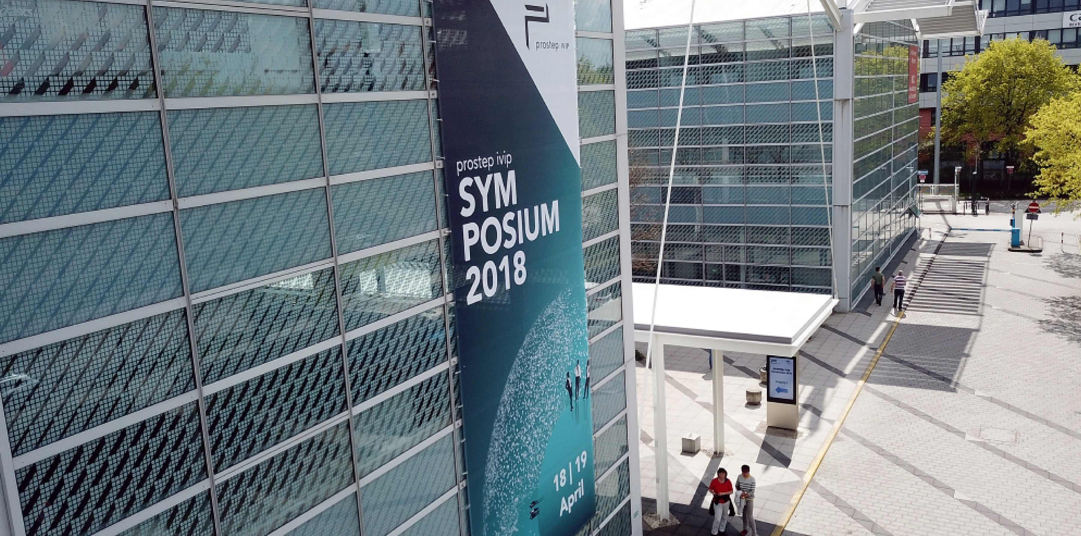 Aussenwerbung Plakat Design prostep ivip Symposium 2018
