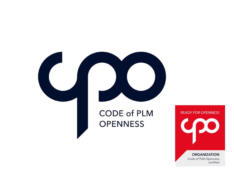 Logo Design CPO code of PLM Openess
