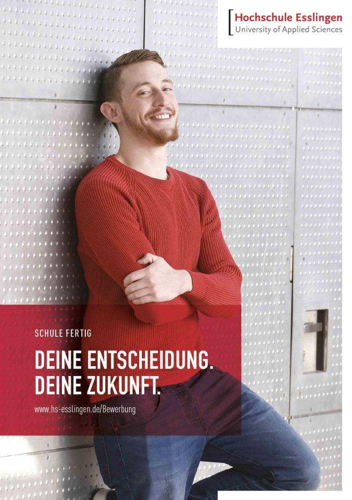 Hochschule Esslingen Poster Layout Design