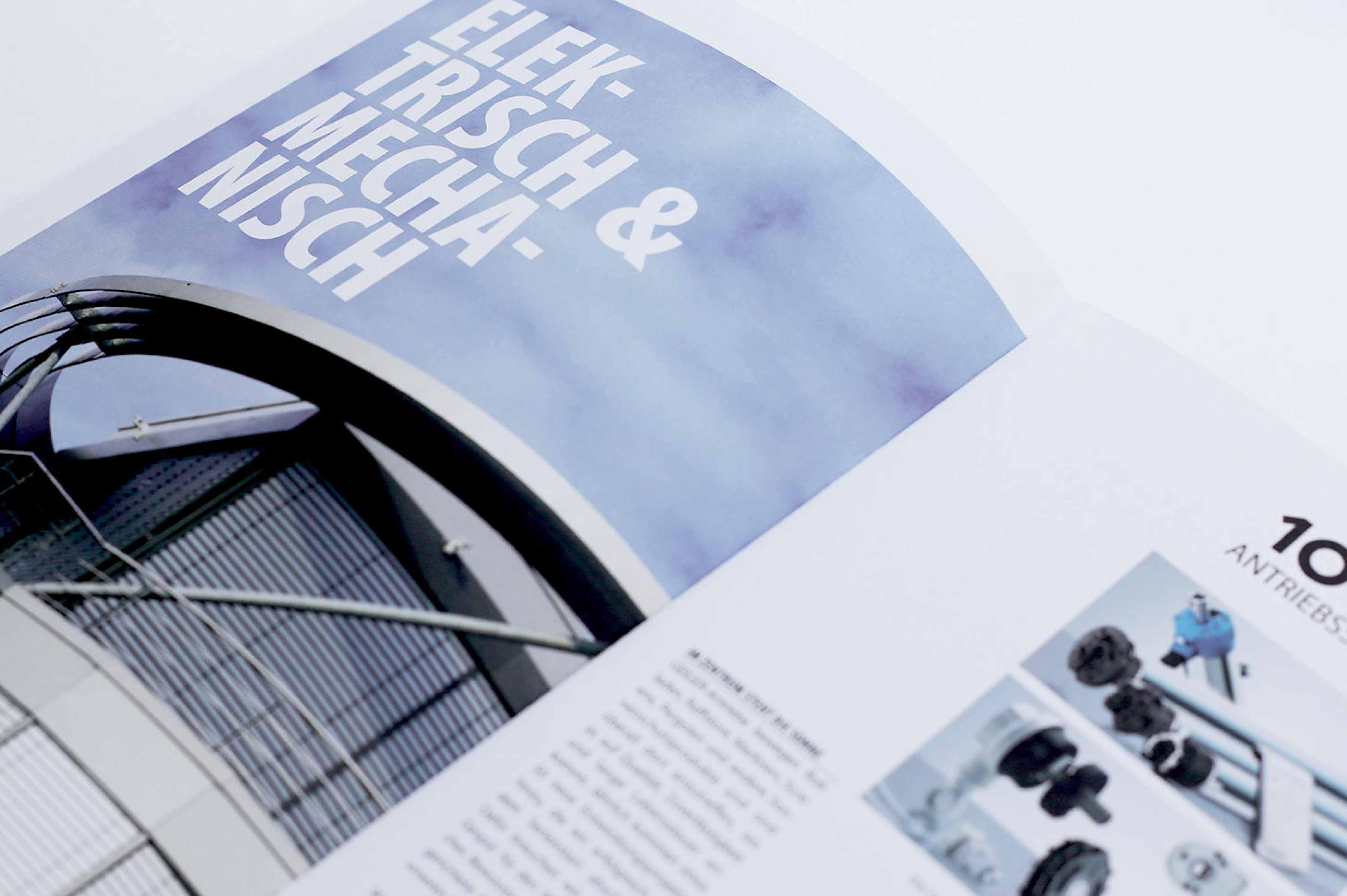 Imagebroschüre Layout Design