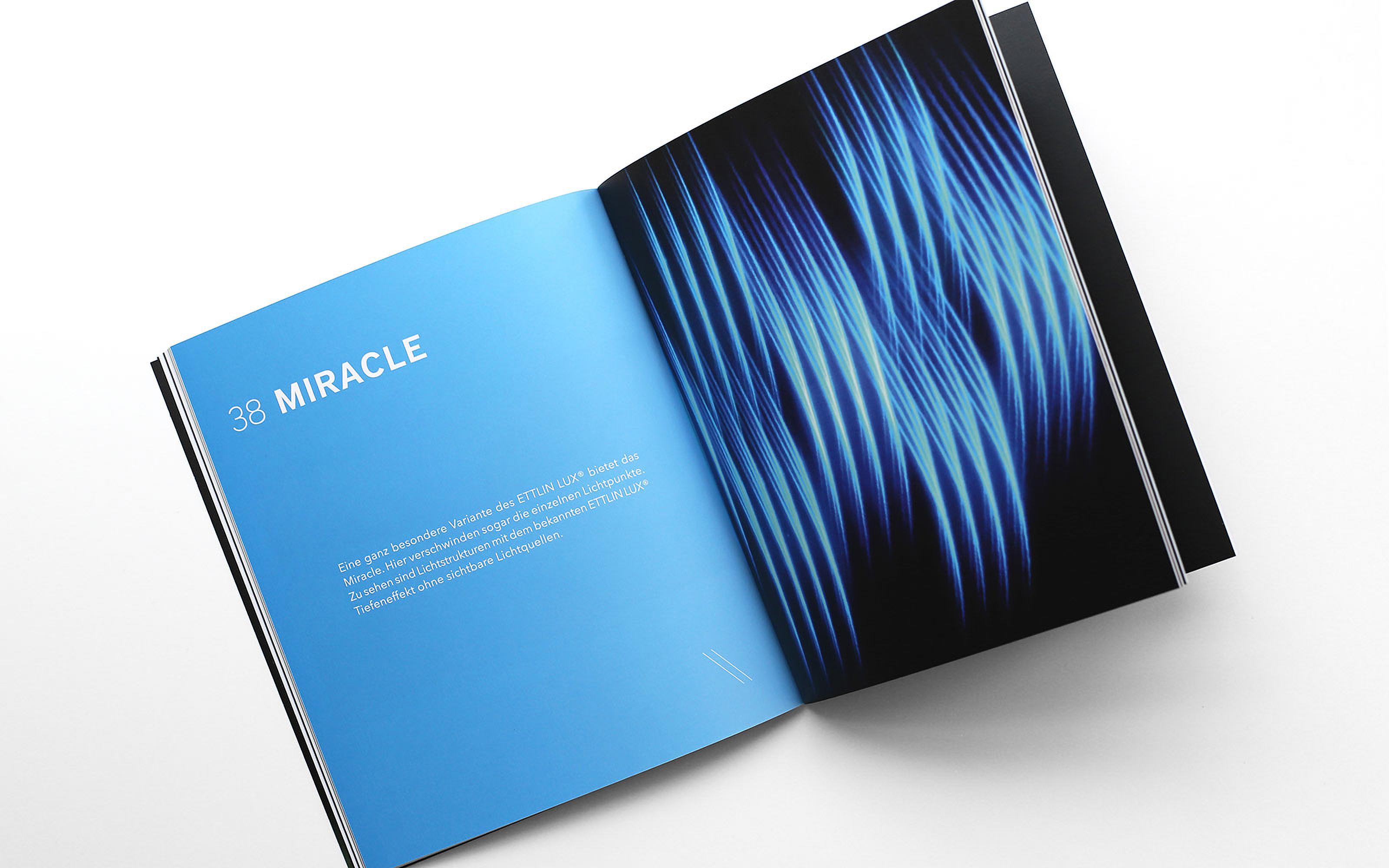 Imagebroschüre Layout Design ETTLINLUX