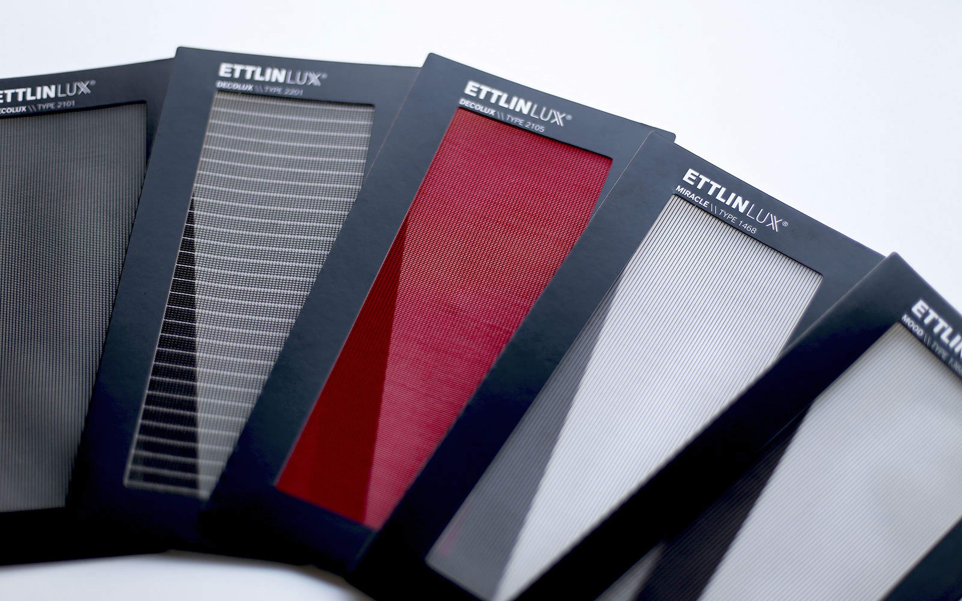 Printdesign Titel Imagebroschüre ETTLINLUX
