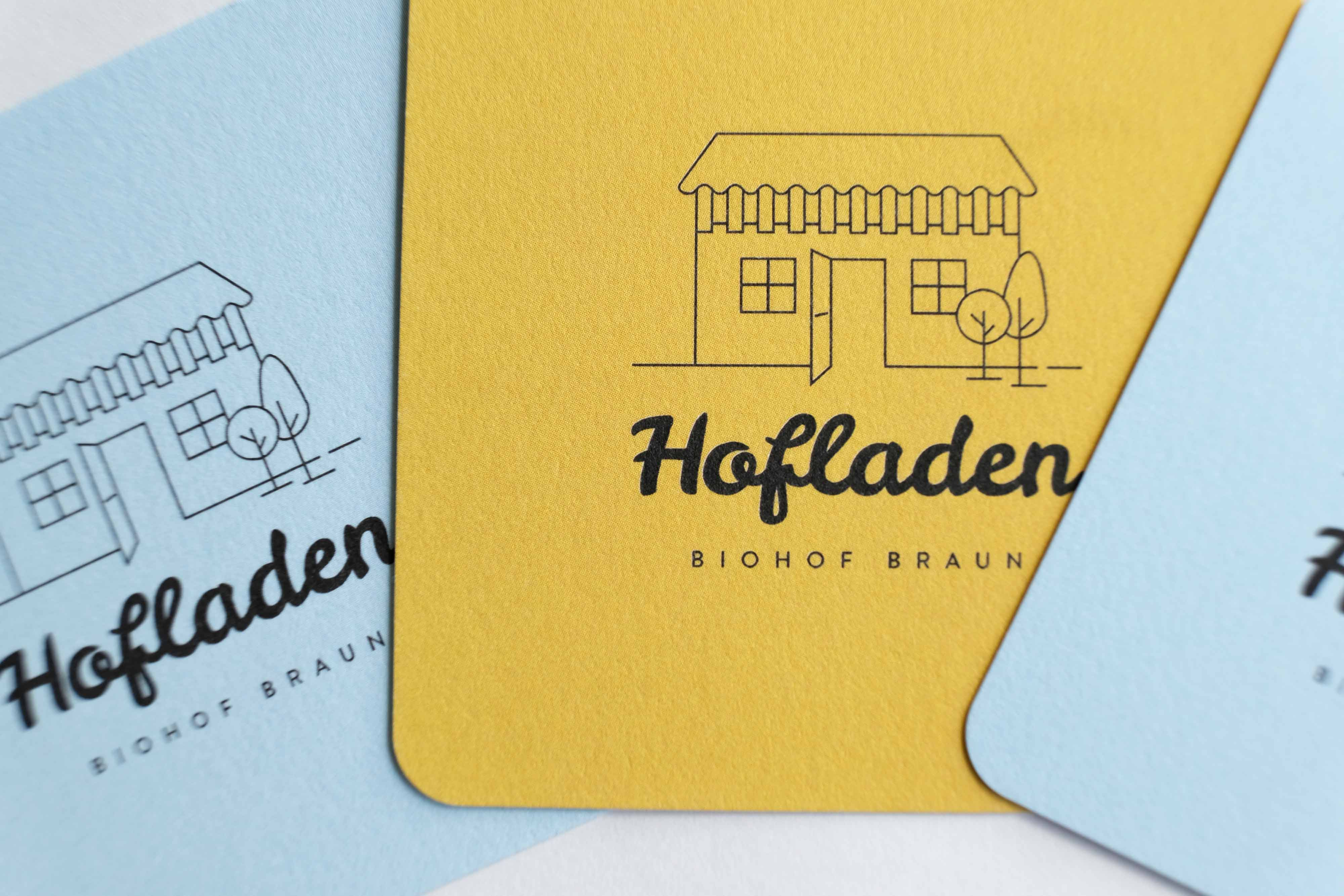 Logo Design Hofladen Biohof Braun