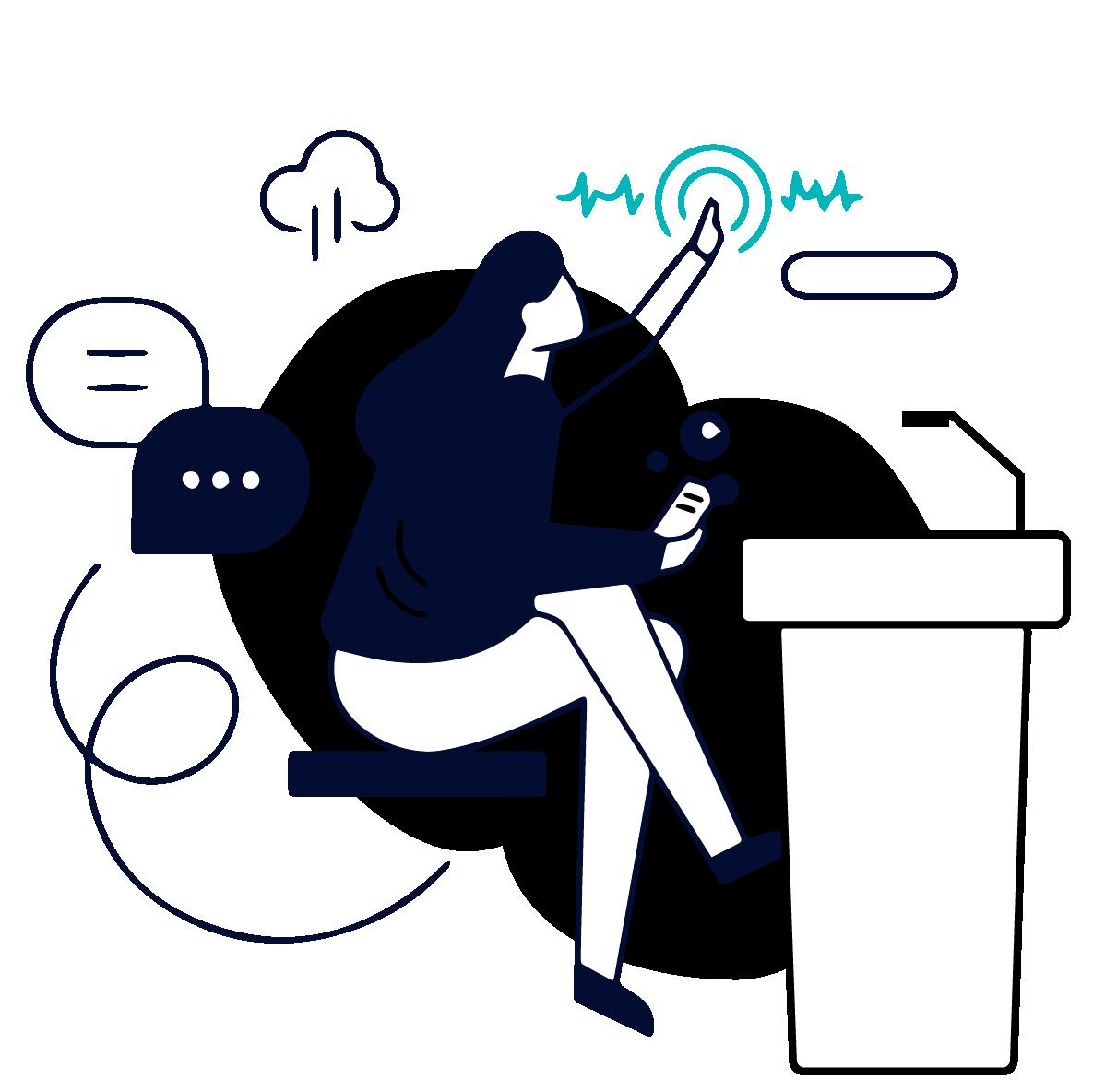 Illustration für prostep ivip verein