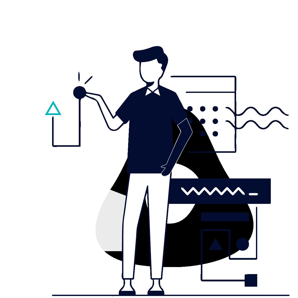 Illustration für prostep ivip Symposium