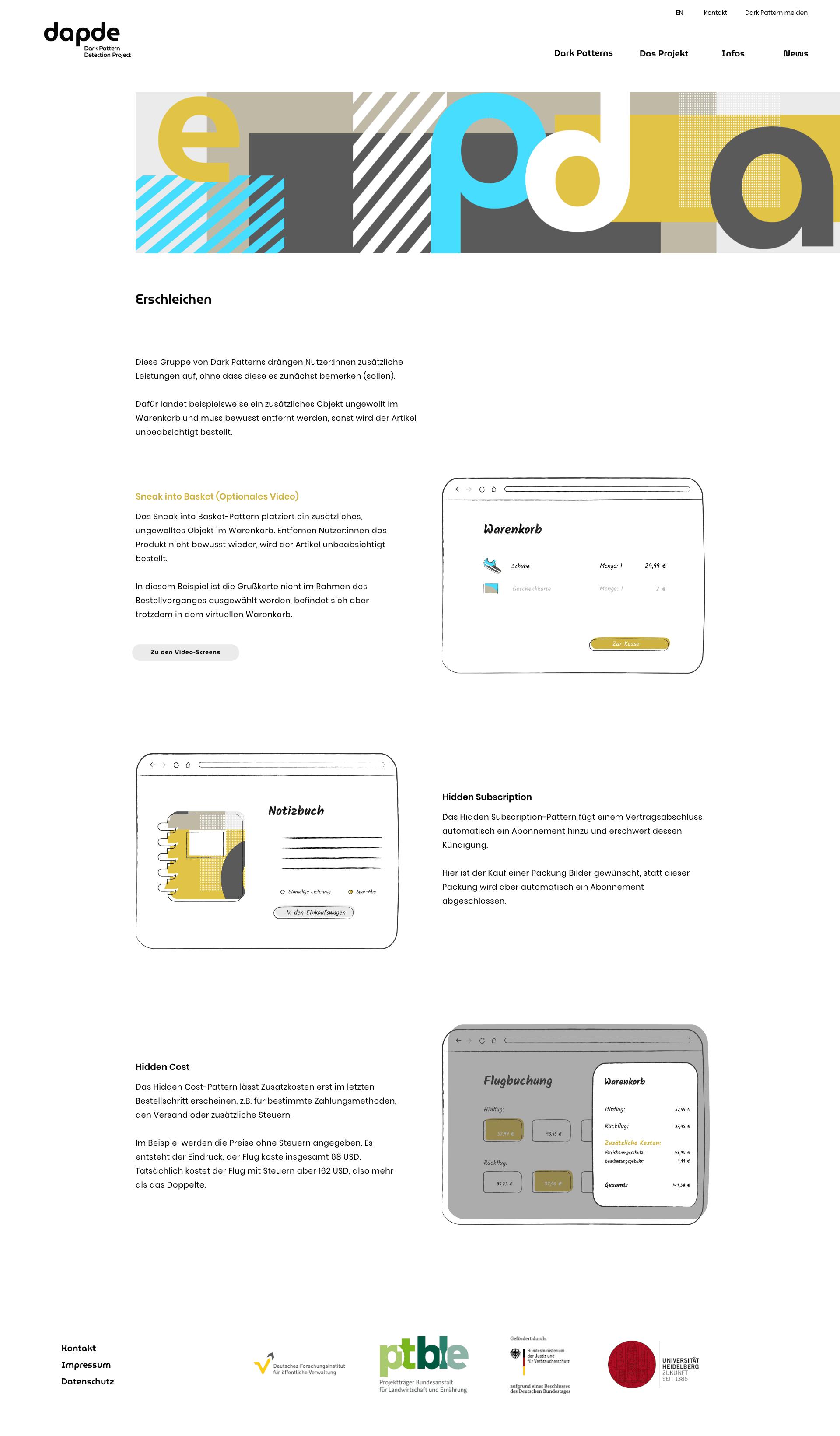 Screendesign dapde